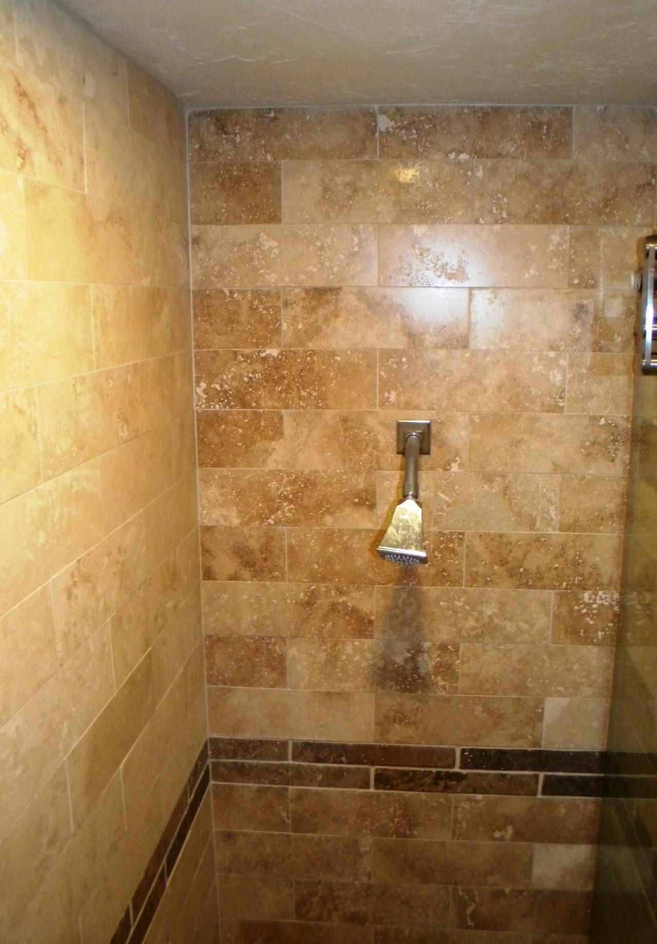 Tile work in bathrooms - Custom Bathrooms
